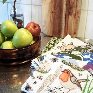 Duns Sweden biopamut terítők, konyharuhák